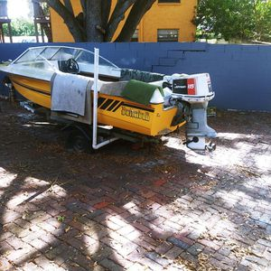 Boat, Trailer And Motor for Sale in Tampa, FL