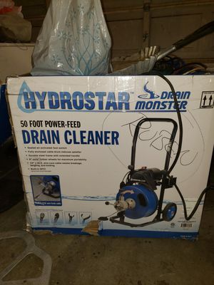 Drain Cleaner 50ft for Sale in Moreno Valley, CA