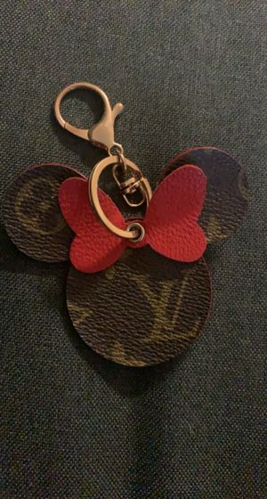 Authentic repurposed Louis Vuitton minnie mouse keychain for Sale in San Mateo, CA