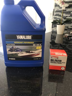 Combo package Yamalube Oil and Oil filter for Sale in Hialeah, FL