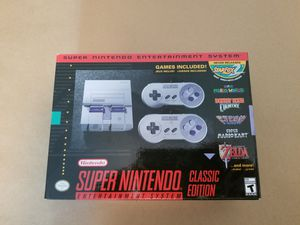 SNES classic edition for Sale in Glen Cove, NY