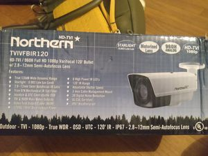 Incredible Northern Hd-Tvi camera for Sale in Phoenix, AZ