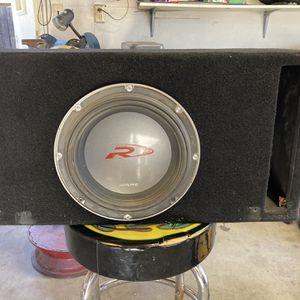 Sub And Amp for Sale in El Cajon, CA