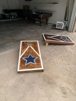 Custom Cornhole boards for Sale in Amarillo, TX
