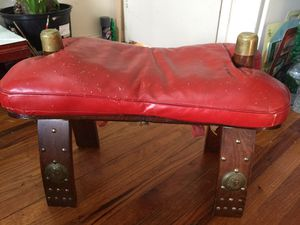 Antique leather chair for Sale in Leonia, NJ