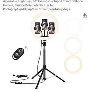 "12"" Selfie Ring Light for Sale in Springfield, VA"