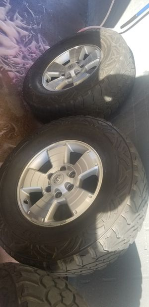 """17"""" Tacoma rims for Sale in San Diego, CA"""