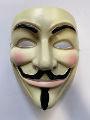 V is for Vendetta Anonymous Mask for Sale in Sacramento, CA