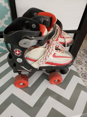 Free boys skates good brand size 1 to 4 message when ready to pick up for Sale in Colton, CA