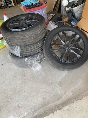 18' Chevy Malibu Wheels and tires (OBO) for Sale in Fresno, CA
