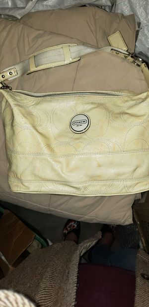 Coach patin leather purse. for Sale in Portland, OR