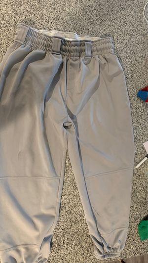 Wilson youth xl grey baseball pants for Sale in San Bernardino, CA