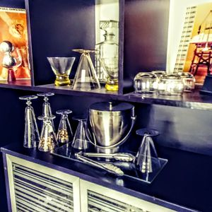 Mid century glass and barware for Sale in Chandler, AZ