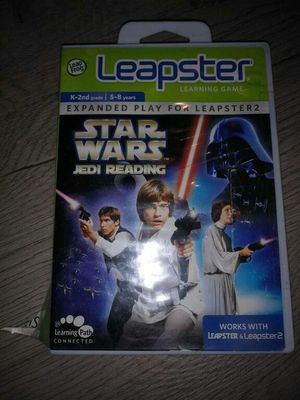 Star Wars Jedi Reading (Leapster Learning Game) for Sale in Westminster, CA