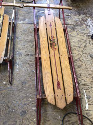 Vintage sled for Sale in South Kensington, MD