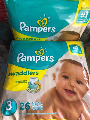 Pampers size 3 for Sale in Chino Hills, CA