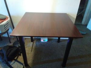Very solid table for Sale in Kent, OH