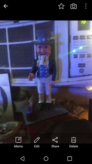 Unckle Sam cast iron coin bank . for Sale in Odessa, TX