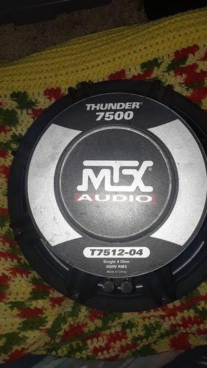 Mtx thunder 7500 subwoofer for Sale in Denver, CO