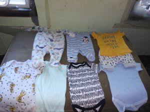 Newborn baby boy clothes for Sale in Avon Lake, OH