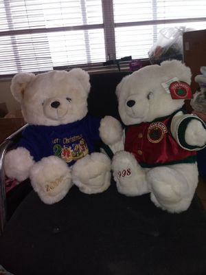 Captain America & Stuffed animals/x-mas bears $8 for all for Sale in Lake Worth, FL