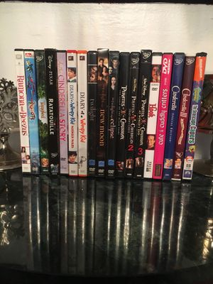 18 DVD movies children and adult for Sale in Washington Township, NJ