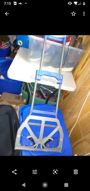 Portable folding dolly for Sale in Quapaw, OK