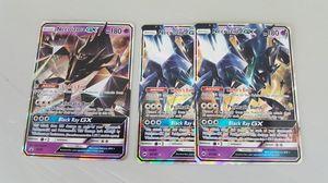 Necrozma GX x3 Set Pokemon Cards for Sale in Phoenix, AZ