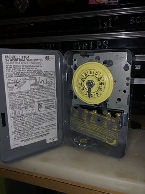 intermatic T104 208-277 timer w/steel enclosure for Sale in San Bruno, CA