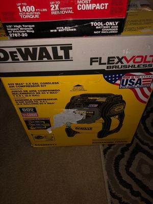 Dewalt cordless air compressor for Sale in St. Louis, MO