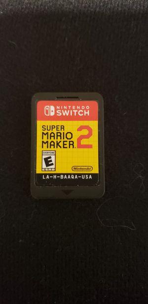 Super Mario Maker 2 for Sale in Marysville, WA