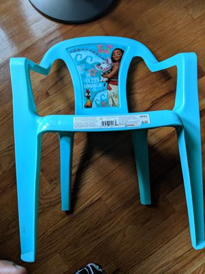 Moana kids chair for 3-7yrs kids for Sale in Edison, NJ