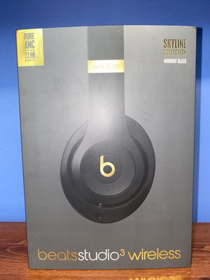 Beats Studio 3 Wireless Midnight Black for Sale in Norwalk, CA