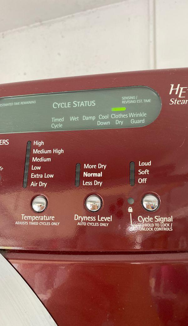 Kenmore Elite HE5 Steam Dryer