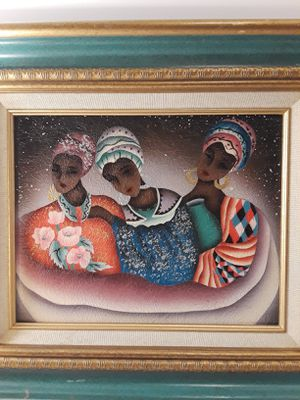 """Three Girls "" Art Canvas. Oil Painting. Home Decor. for Sale in Houston, TX"