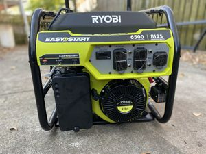 Ryobi 6500 watt generator for Sale in Atlanta, GA
