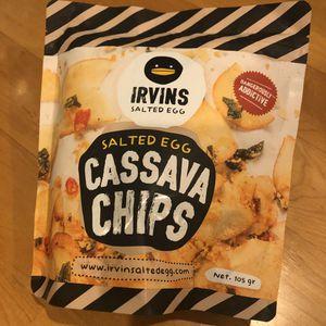 Irvins Salted Egg Cassava Chips (105g) for Sale in Walnut Creek, CA