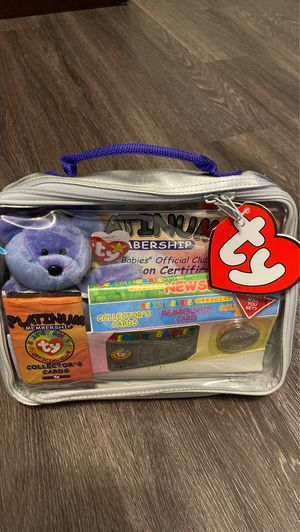 1999 Ty Beanie Baby Platinum Membership Official Club Kit New Unopened Edition 2 for Sale in Austin, TX