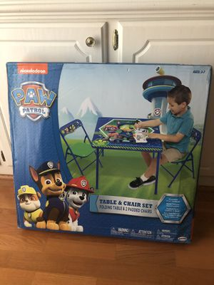 Paw patrol kids table for Sale in Decatur, GA