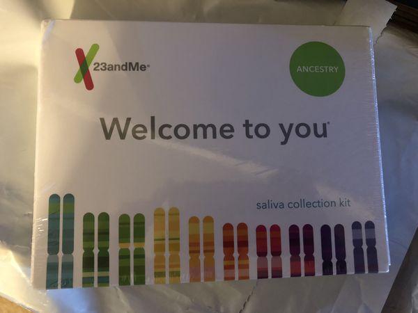 New 23andMe saliva kit