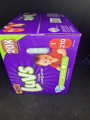 Luvs pampers size 1 for Sale in Elmendorf, TX