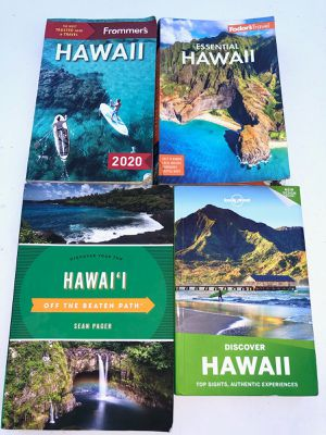 TRAVELING TO HAWAII **** I DID & SPENT $100 ON THE 4 BEST TRAVEL BOOKS YOU CAN GET *** $40 & THERE YOURS : AHOLA!:) for Sale in Deerfield Beach, FL