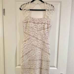Women's Blush Lace KeyHole Back Dress for Sale in San Diego, CA