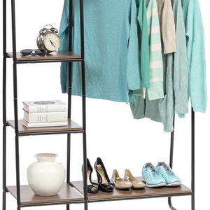 Metal Garment Racks With Shelves (3 Of Them!) for Sale in Bonney Lake, WA