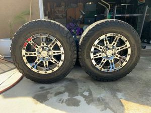 Five Pro Comp 18 inch wheels and tires for Sale in West Covina, CA
