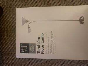 SALT torchiere floor lamp for Sale in Galena, OH