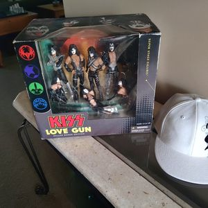 Kiss Love Gun Deluxe Boxed Edition Super Stage Figures for Sale in West Palm Beach, FL
