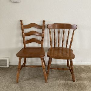 Two Wooden Chairs for Sale in Englewood, CO