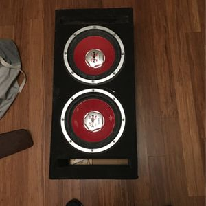 Sony Xplod Subwoofer 1100 Watts for Sale in Chula Vista, CA
