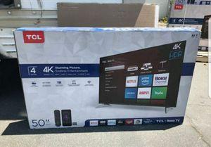 "50"" TCL 4k Roku Tv for Sale in Las Vegas, NV"